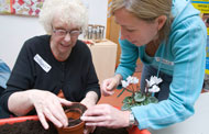 Developing community links for those with dementia