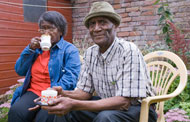 Making gardens safe and secure for those with dementia