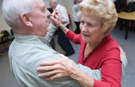 Movement and exercise for those with dementia