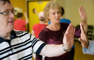Staying healthy for those with dementia