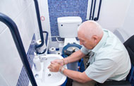 making the toilet and bathroom easier to use for those with dementia