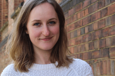 Head-shot of the author, Anna Field, Firstline Programme Officer, Frontline