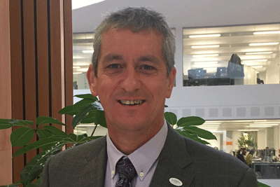 Head-shot of the author, Total transformation of care blog by Brian Frisby, Service Director – Delivering Differently, People Services Directorate, Derby City Council