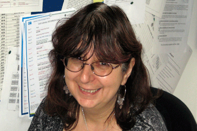 Photo of Sharon Goldman