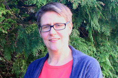 Head-shot of the author, Catherine Needham, University of Birmingham (Health Services Management Centre Reader in Public Policy and Public Management)