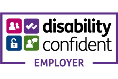 Disability confident employers logo