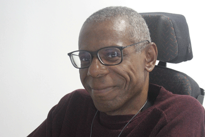 Head-shot of the author, Ossie Stuart, SCIE trustee & equality and diversity consultant
