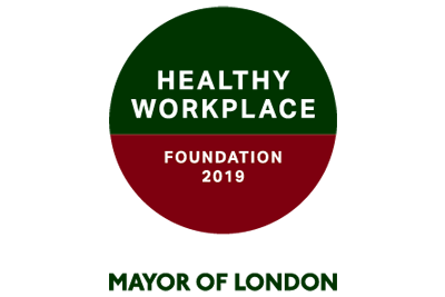 Health Workplaces - Mayor of London logo