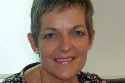 Head-shot of the author, Kathie Drinan, independent paediatric physiotherapist at Therapy for Children UK