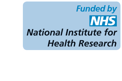 Funding logo of National Institute for Health Research School for Social Care Research (NIHR SSCR)
