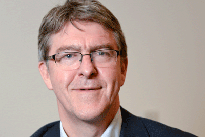 Head-shot of the author, Mike Adamson, Chief Executive, British Red Cross