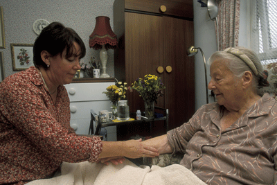Advanced dementia and end of life care