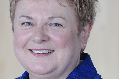 Head-shot of the author, Interim Chief Executive of the Northern Ireland Social Care Council, Patricia Higgins