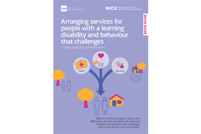 Cover of resource: Arranging services for people with a learning disability and behaviour that challenges