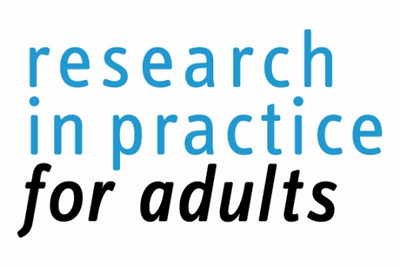 Developed in partnership with Research in Practice for Adults (RiPfA)