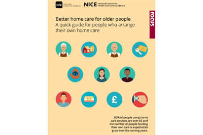 Cover of resource: Better home care for older people