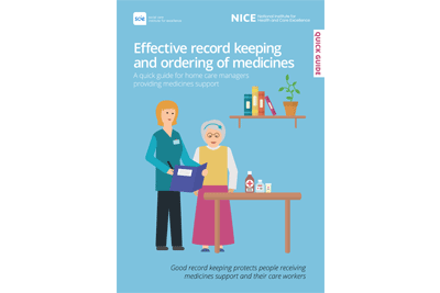 Cover of resource: Effective record keeping and ordering of medicines