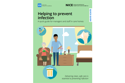 Cover of resource: Helping to prevent infection