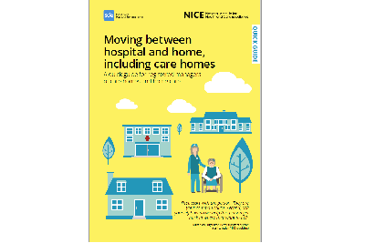 Cover of resource: Moving between hospital and home, including care homes