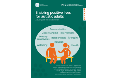 Cover of resource: Enabling positive lives for autistic adults