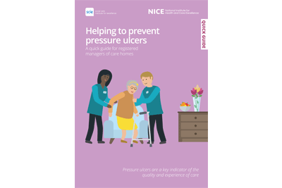 Cover of resource: Helping to prevent pressure ulcers