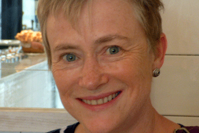 Head-shot of the author