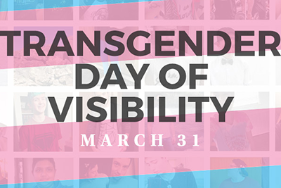 Trans Visibility Day flag