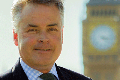 Head-shot of the author, Tim Loughton MP, former Children's Minister and Chair of the All-Party Parliamentary Group for Children