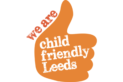 Logo of We Are Child Friendly Leeds