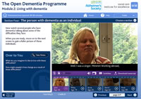 Living with dementia<
