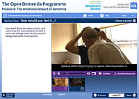 The emotional impact of dementia