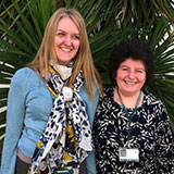 Image of Sue Senior Project Officer and Stella Smith, Team Manager, Surrey County Council