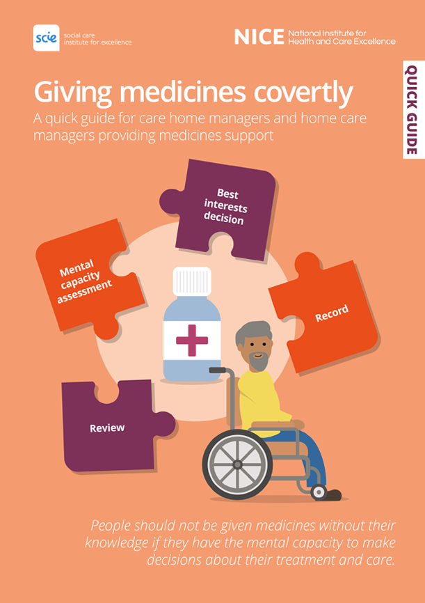 Giving medicines covertly