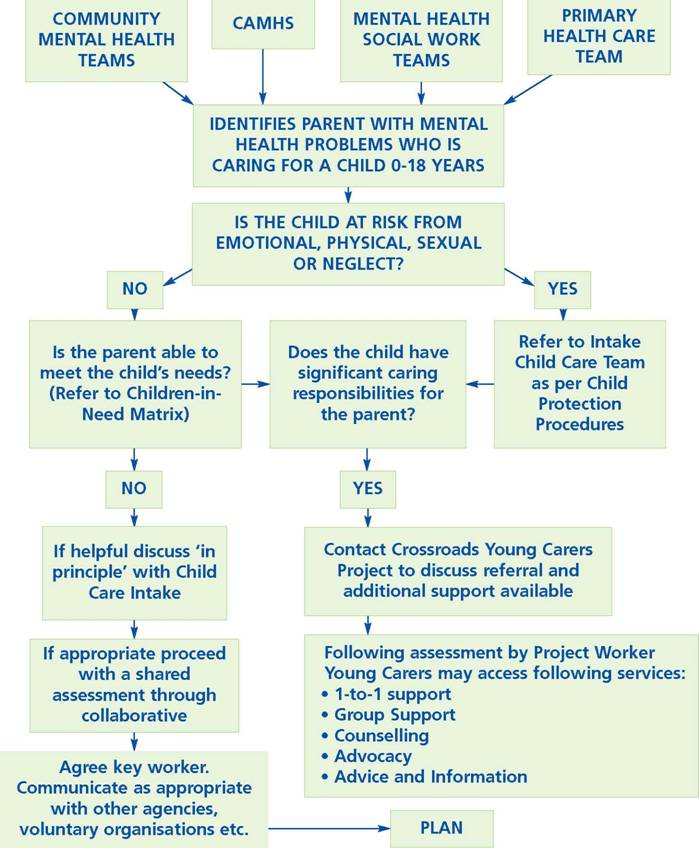 Families that have alcohol and mental health problems example north somerset council march 2001 children whose parents have mental health problems flowchart pronofoot35fo Gallery